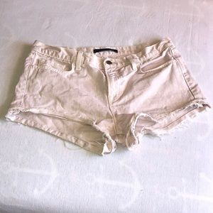 J brand distressed denim jean shorts 29 orchid ice